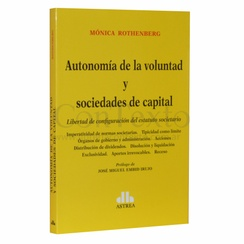Autonomia de la voluntad y sociedades de capital
