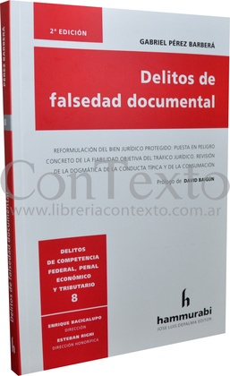 Delitos de falsedad documental